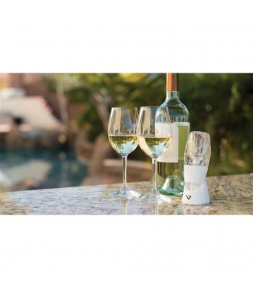 Provzdušňovač (dekantér) Vinturi na okysličení bílého vína